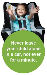 رگز کودکان و حیوانات را تحت هیچ شرایطی در خودرو تنها نگذارید حتی برای ۱ دقیقه