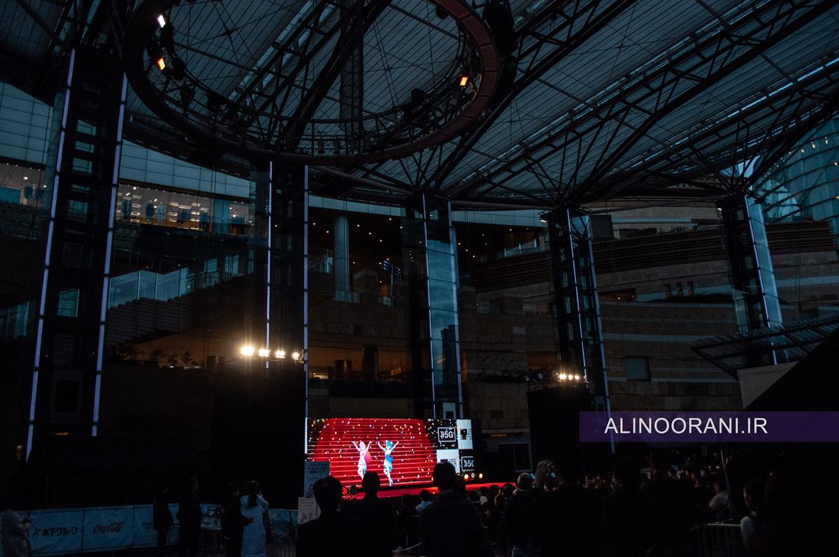 سی و دومین جشنواره بین المللی فیلم توکیو 2019 در منطقه لوکس روپونگی هیلز توکیو برگزار شد.