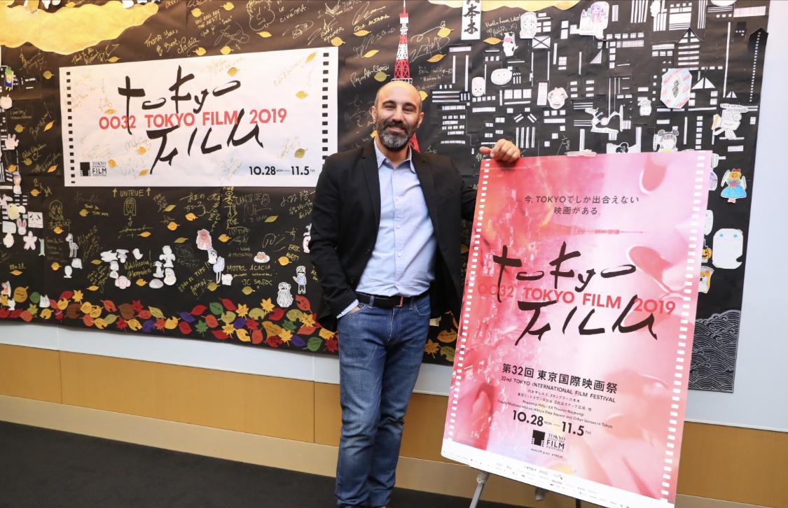 محسن تنابنده در جشنواره فیلم توکیو