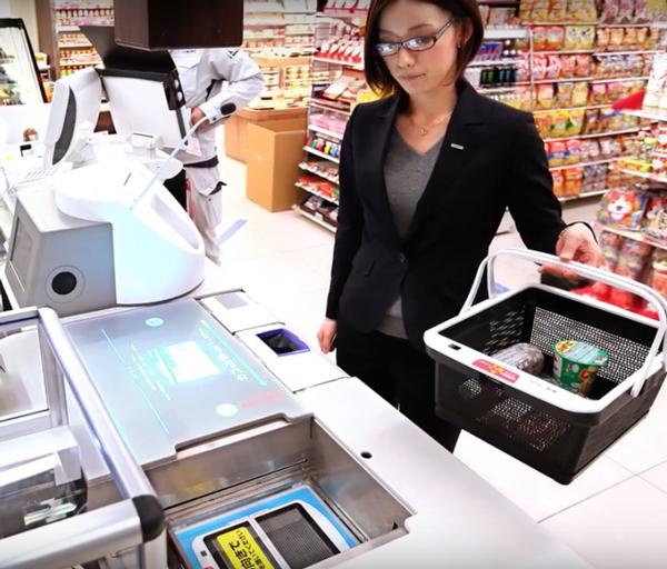 نسل بعدی زنجیره تامین با سیستم خرید سوپرمارکت هوشمند Regi Robo