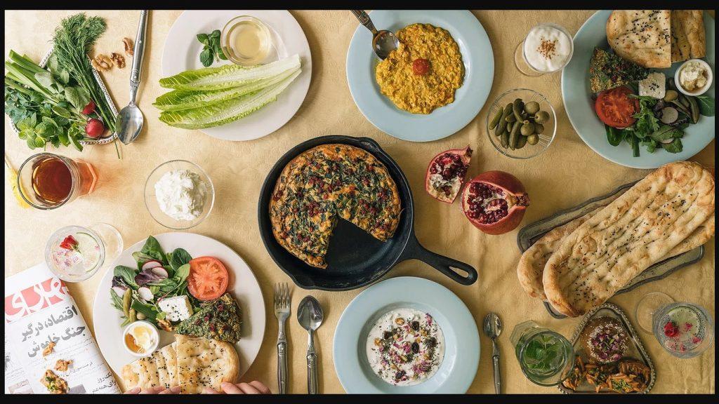 صبحانه ایرانی در توکیو