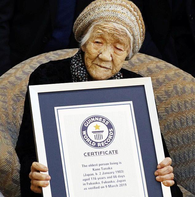 یک زن ژاپنی مسنترین انسان جهان شناخته شد