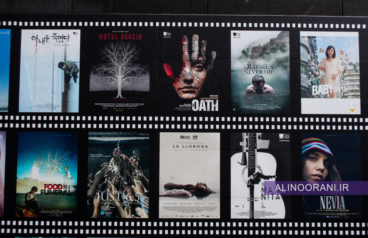 پوسترهای فیلم های رقابتی جشنواره فیلم توکیو 2019 با حضور سه فیلم ایرانی: متری شیش و نیم، پیرمردها نمی میرند و قسم.