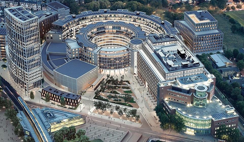 مقر اصلی بی بی سی در لندن