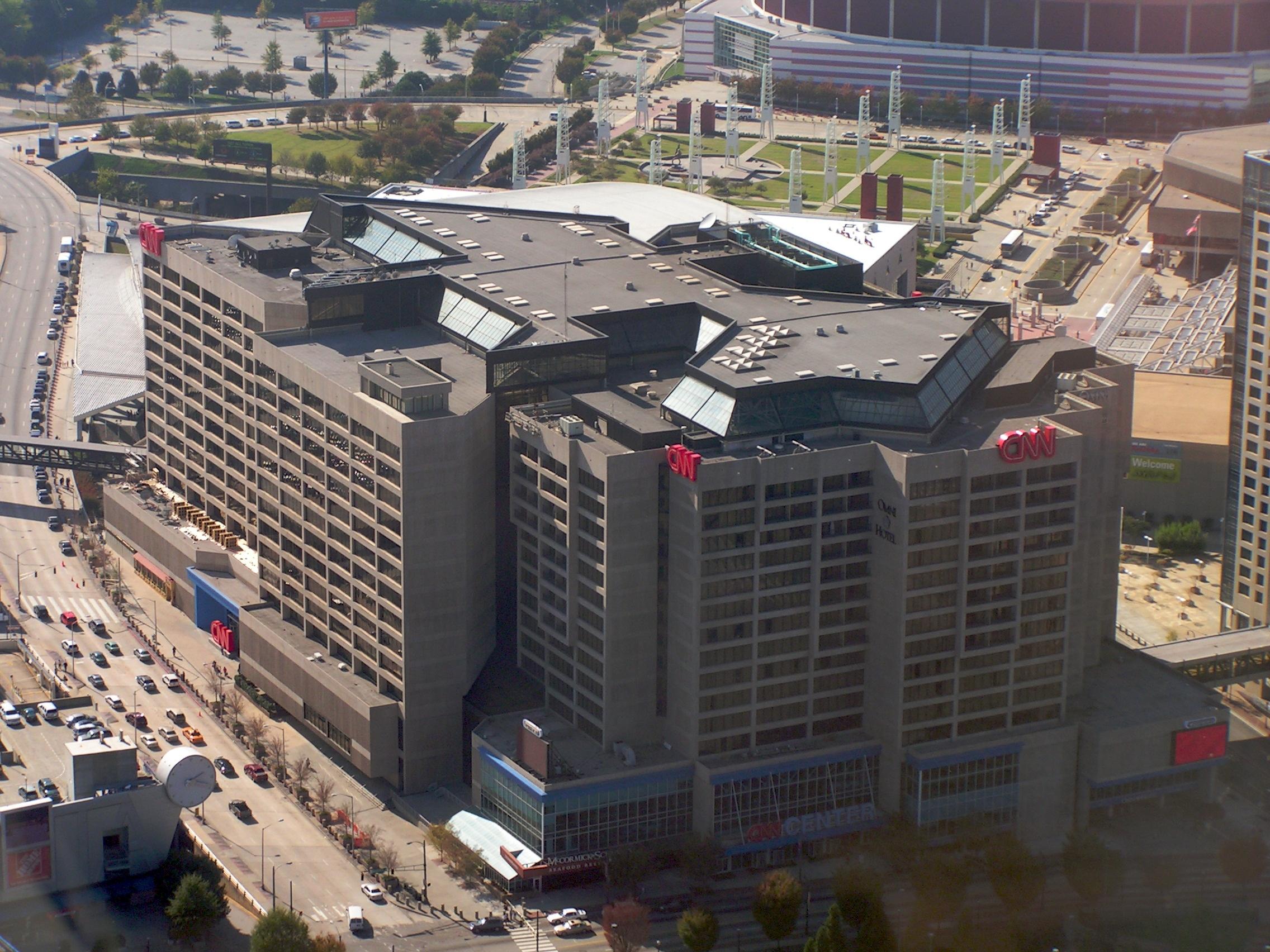 مقر اصلی سی ان ان در آتلانتای آمریکا