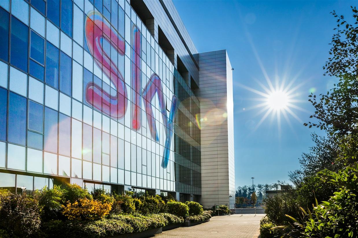 ساختمان شرکت رسانه ای و ارتباطات Sky در ایتالیا