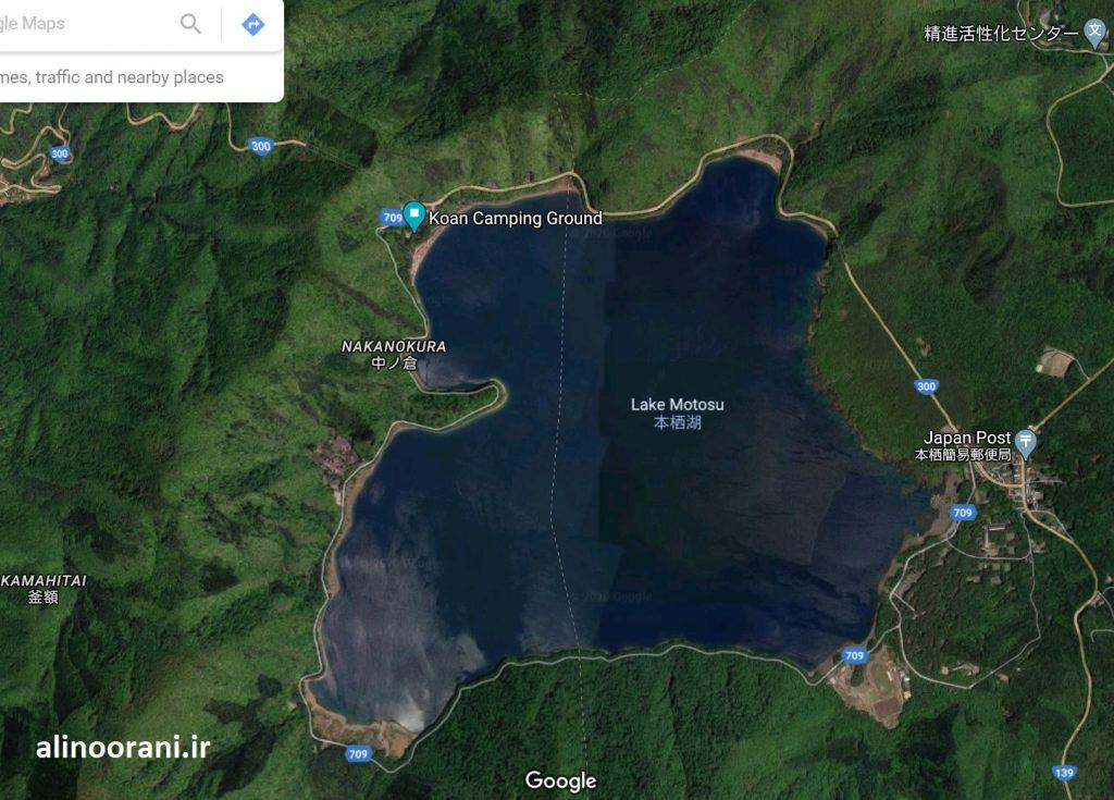 راهنمای کمپ زدن در نزدیکی فوجی: دریاچه موتوسو در ۱۵ کیلومتری قله فوجی ژاپن قرار دارد و منظره بسیار زیبایی از آن دارد.