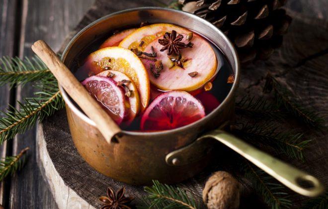 شراب داغ ویژه کریسمس