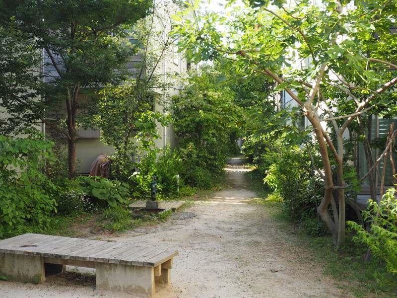 محله سبز و صمیمی ژاپنی